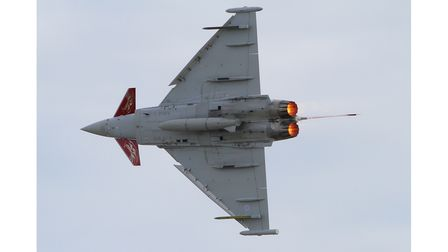 Two Eurofighter Typhoon jets were scrambled from RAF Coningsby to intercept the civilian aircraft