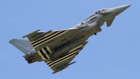RAF Typhoon jets went supersonic to meet a civilian aircraft