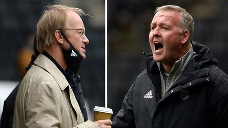 Ipswich Town manager Paul Lambert has been backed publicly by owner Marcus Evans. Picture: PAGEPIX