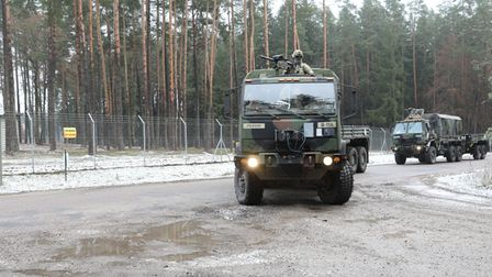 NATO Enhanced Forward Presence Battle Group-Poland international partners and allies join with the 15th Mechanized Brigade...