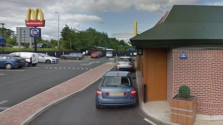 Chris Kinghas thanked a mystery motorist for their random act of kindness at Eye Green McDonald's near Thorney.