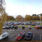 Queen Elizabeth Hospital, King's Lynn. Pictured: the main car park.Copy: For: EDP News