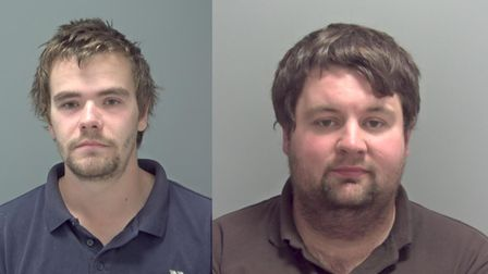 Shane Phillips and Tim Moyle were jailed at Ipswich Crown Court