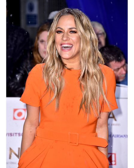 File photo dated 22/1/2019 of TV presenter Caroline Flack who has died, her family said in a stateme