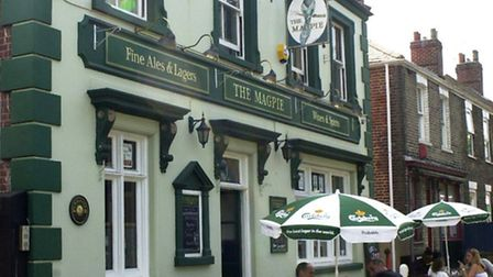 The Magpie pub when it was still a thriving business.