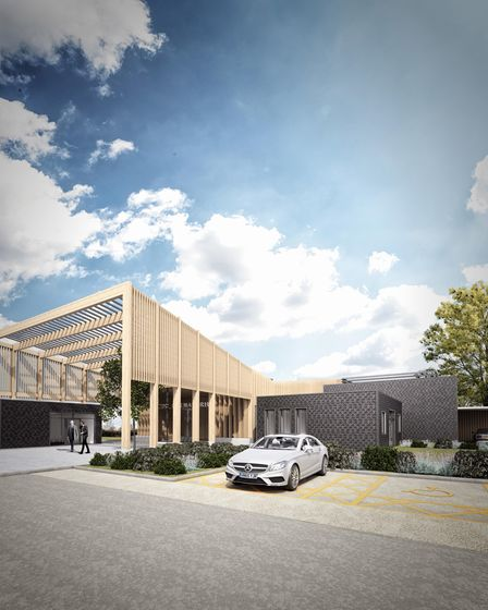 First impressions released by East Cambridgeshire District Council of the proposed £6.5m publicly funded and publicly owned crematorium at Mepal. If all goes to plan, it could open in 2022.