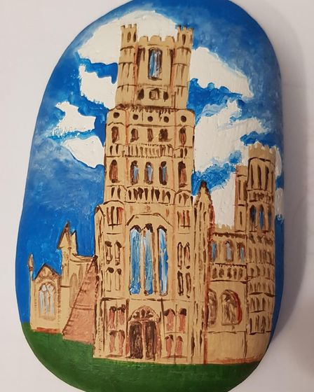 Ely Cathedral rock