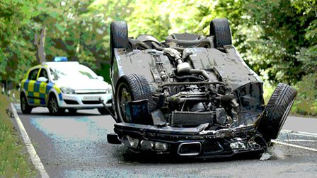 A new report has highlighted Norfolk as one of the worst counties for reducing accidents.
