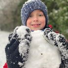 Youngsters enjoying the snow at Badersfield.