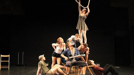Silver Lining, a circus spectacular performed by graduates of the National Centre for Circus Arts, i