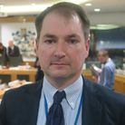 Oppostion Cllr Andrew Wood pusing for alternative choices on referendum ballot paper. Picrture: Mike