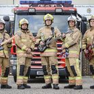 The Backdrafts - a band made up from members of the Norfolk Fire service, will be headlining the eve