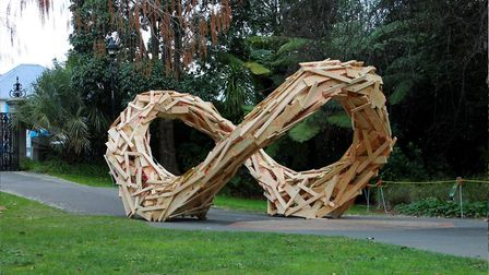 Open gardens featuring sculptures and artwork form a large part of the event. Pic: Elparo Light Nels