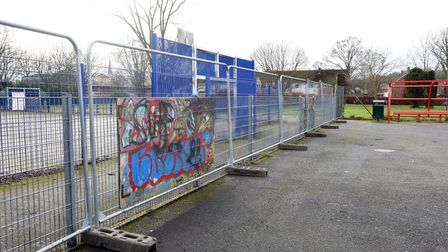Work on the Skate park in Hadleigh is due to undergo a revamp Picture: CHARLOTTE BOND