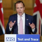 Health Secretary Matt Hancock was informed by the government test and trace app that he came into contact with someone with coronavirus recently.