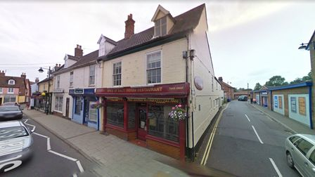 Spice of Balti, on St Mary's Street, Bungay.