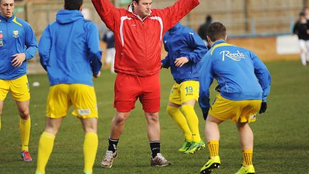 Ross McNeil is ready to begin life with King's Lynn Town Reserves this evening. Picture: Ian Burt