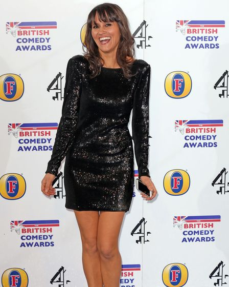 Nina Conti attends the British Comedy Awards at Fountain Studios in Wembley, north London.