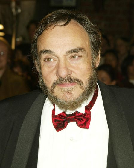 Actor John Rhys-Davies arrives for the premiere of his film, 'The Lord of the Rings: The Return of t