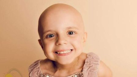 Sophie Taylor, whodied age five in January 2019, from bone cancer.