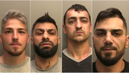 Gang of lead church thieves were jailed at Lincolnshire Crown Court on January 6
