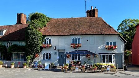 the front of the Fox Inn, Finchingfield