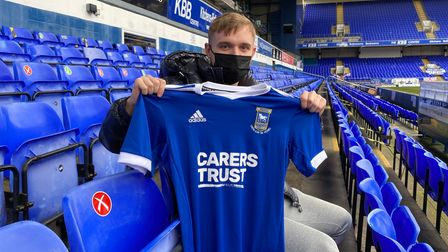 Luke Thomas has made eight starts and 14 substitute appearances for Barnsley this season. Photo: ITFC