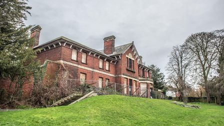 Belle Vue House, Sudbury. Picture: SARAH LUCY BROWN
