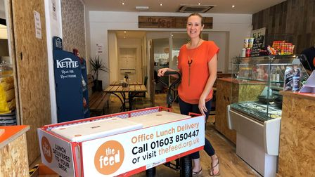 Lucy Parish, chief executive at The Feed in Norwich.
