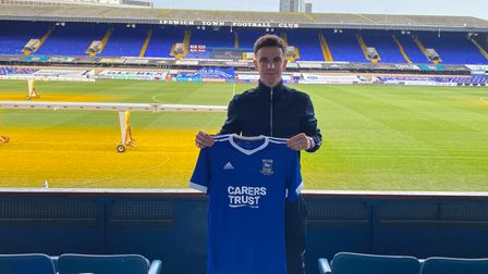 Ipswich Town have signed Josh Harrop on loan from Preston North End. Photo: ITFC