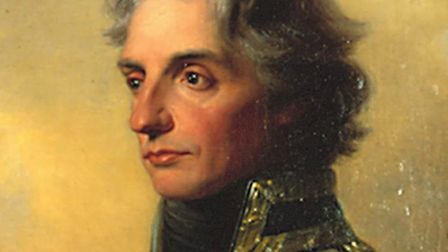 The Royal Navy Museum's official portrait of Admiral Lord Nelson which is considered to be the best