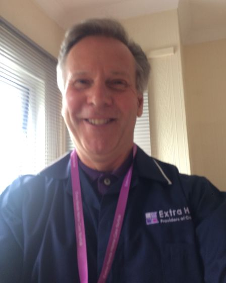 Former Hollywood Cinema boss Trevor Wicks is now a care visitor for Norfolk-based Extra Hands.