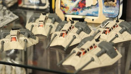 1970s Star Wars merchandise up for auction at Keys Auctioneers. Picture: ANTONY KELLY