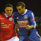 Remy Gordon scored for Wroxham in their win against Thurrock. Picture: DENISE BRADLEY