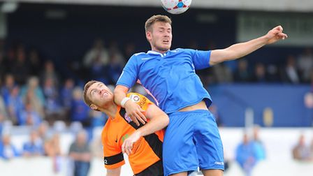Vanarama Conference NorthLowestoft Town v AFC Fylde at Crown Meadow.Shaun Bammant.Picture: James Bas