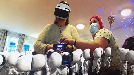 Meadow House Nursing Home in Swaffham has received some new virtual reality (VR) equipment, which enables residents to experience opportunities they wouldn't normally receive