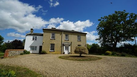 Imposing Georgian property with large sash windows which is set back from a large sweeping gravel driveway