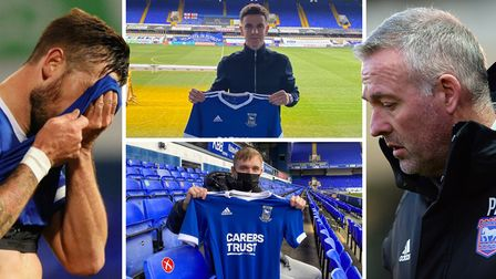 Ipswich Town have signed Josh Harrop (top) and Luke Thomas (bottom) to try and bring some much-needed creativity to their...
