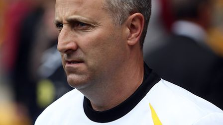 Norwich Manager Neil Adams before the Sky Bet Championship match at Molineux, WolverhamptonPicture b