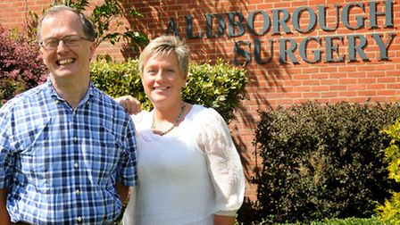 Practice manager Julie Grey and GP Dr Philip Wood are both leaving Aldborough Surgery later this yea