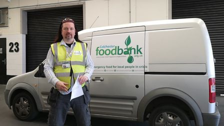 Mike Beckett, CEO of Colchester Foodbank, fears 2021 might be its busiest year yet.