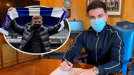 Ipswich Town have signed Luke Thomas (inset) and Josh Harrop on loan this week