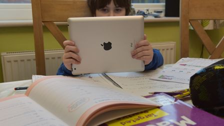 Children need a laptop or tablet for homeschool.