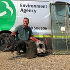 The Environment Agency seized 52 illegal fish traps and nets from river banks across East Anglia.