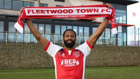 Janoi Donacien has joined Fleetwood Town on loan until the end of the season