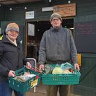 Iris Van Zeton and Doeke Dobma and, tenant farmers, at Clinks Care Farm in Beccles. Picture: Daniell