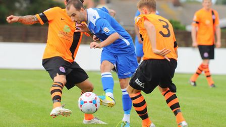 Vanarama Conference NorthLowestoft Town v AFC Fylde at Crown Meadow.Chris Henderson.Picture: James B