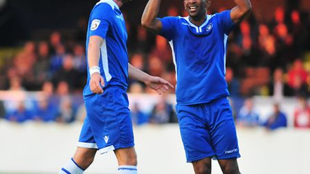 Jefferson Louis was on target for Lowestoft in the 2-0 win over Solihull Moors.