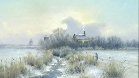 Artist David Dane has created a new website featuring many of his Norfolk Broads paintings over the