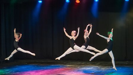 Norfolk Dance Association's annual Summer school with Rachael Hunt from the English National Ballet
